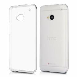 Cover Morbida per  HTC M7 Serie ULTRASOFT Stileitaliano® in TPU Trasparente