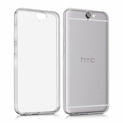Cover Morbida per HTC  ONE A9 Serie ULTRASOFT Stileitaliano in silicone TPU sottile Trasparente