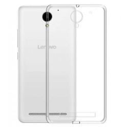 Cover Morbida per Lenovo Vibe C2 K10A40 Serie ULTRASOFT Stileitaliano® in TPU Trasparente