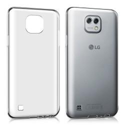 Cover Morbida per LG X Cam Serie ULTRASOFT Stileitaliano in silicone TPU sottile Trasparente