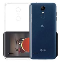 Cover Morbida per LG K8 - K9 2018 Serie ULTRASOFT Stileitaliano in silicone TPU sottile Trasparente