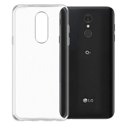 Cover Morbida per LG Q7 Serie ULTRASOFT Stileitaliano in silicone TPU sottile Trasparente