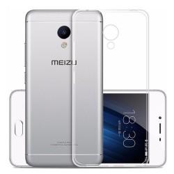 Cover Morbida per Meizu Pro 6 Serie ULTRASOFT Stileitaliano in silicone TPU sottile Trasparente