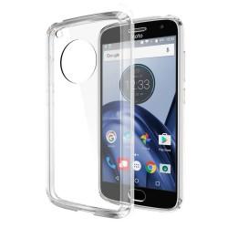 Cover Morbida per Motorola Moto G5 Serie ULTRASOFT Stileitaliano in silicone TPU sottile Trasparente