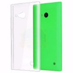 Cover Morbida per LUMIA 730 735 Nokia Serie ULTRASOFT Stileitaliano in silicone TPU sottile Trasparente