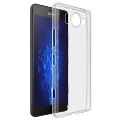 Cover Morbida per LUMIA 950 Nokia Serie ULTRASOFT Stileitaliano in silicone TPU sottile Trasparente
