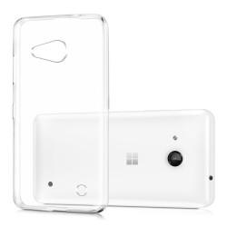 Cover Morbida per Lumia 550 Serie ULTRASOFT Stileitaliano in silicone TPU sottile Trasparente
