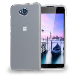 Cover Morbida per Nokia Lumia 650 Serie ULTRASOFT Stileitaliano in silicone TPU sottile Trasparente