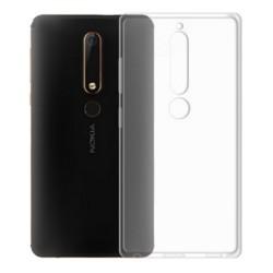 Cover Morbida per Nokia 6 Serie ULTRASOFT Stileitaliano in silicone TPU sottile Trasparente