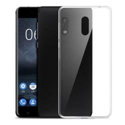 Cover Morbida per Nokia 3 Serie ULTRASOFT Stileitaliano in silicone TPU sottile Trasparente