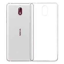 Cover Morbida per Nokia 3.1 2018 Serie ULTRASOFT Stileitaliano in silicone TPU sottile Trasparente