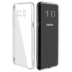 Cover Morbida per Samsung S8 G950 Serie ULTRASOFT Stileitaliano in silicone TPU sottile Trasparente