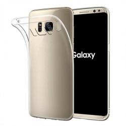Cover Morbida per Samsung S8 Plus Serie ULTRASOFT Stileitaliano in silicone TPU sottile Trasparente