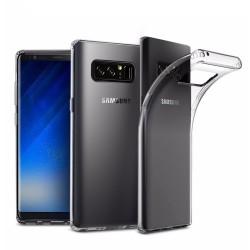 Cover Morbida per Samsung Note 8 N950 Serie ULTRASOFT Stileitaliano in silicone TPU sottile Trasparente