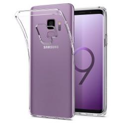 Cover Morbida per Samsung Galaxy S9 G960 Serie ULTRASOFT Stileitaliano in silicone TPU sottile Trasparente