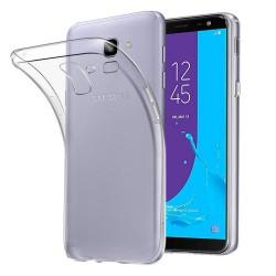 Cover Morbida per Samsung J6 2018 Serie ULTRASOFT Stileitaliano in silicone TPU sottile Trasparente