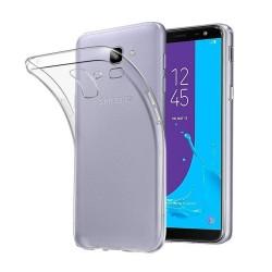 Cover Morbida per Samsung J4 2018 Plus Serie ULTRASOFT Stileitaliano in silicone TPU sottile Trasparente