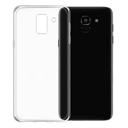 Cover Morbida per Samsung J6 Plus 2018 Serie ULTRASOFT Stileitaliano in silicone TPU sottile Trasparente