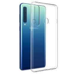 Cover Morbida per Samsung A9 2018 A920 Serie ULTRASOFT Stileitaliano in silicone TPU sottile Trasparente