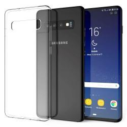 Cover Morbida per Samsung S10 Plus G975 Serie ULTRASOFT Stileitaliano in silicone TPU sottile Trasparente