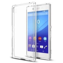 Cover Morbida per  Xperia Z4 Sony Serie ULTRASOFT Stileitaliano in silicone TPU sottile Trasparente