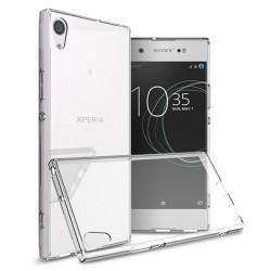 Cover Morbida per Sony Xperia X Serie ULTRASOFT Stileitaliano in silicone TPU sottile Trasparente
