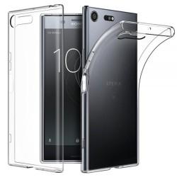 Cover Morbida per Sony Xperia XZ1 compact Serie ULTRASOFT Stileitaliano in silicone TPU sottile Trasparente