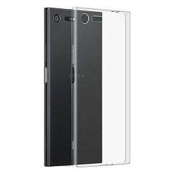 Cover Morbida per Sony Xperia XZ1 Serie ULTRASOFT Stileitaliano in silicone TPU sottile Trasparente