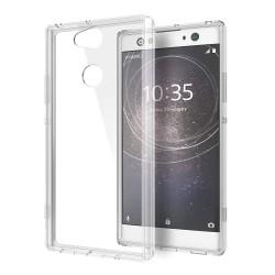 Cover Morbida per Sony Xperia XA2 Serie ULTRASOFT Stileitaliano in silicone TPU sottile Trasparente