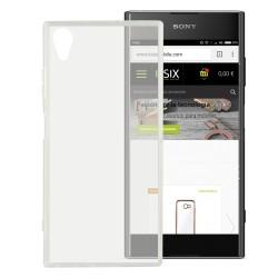 Cover Morbida per Sony Xperia XA1 Plus Serie ULTRASOFT Stileitaliano in silicone TPU sottile Trasparente