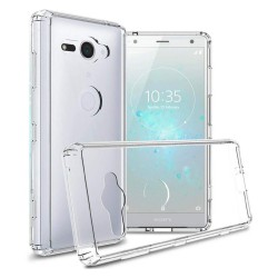 Cover Morbida per Sony Xperia XZ2 Compact Serie ULTRASOFT Stileitaliano® in TPU Trasparente