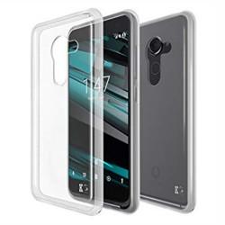 Cover Morbida per Vodafone Smart Platinum 7 Serie ULTRASOFT Stileitaliano in silicone TPU sottile Trasparente