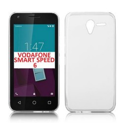 Cover Morbida per Vodafone Smart Speed 6 Serie ULTRASOFT Stileitaliano in silicone TPU sottile Trasparente