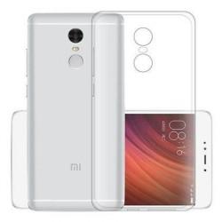 Cover Morbida per Xiaomi Redmi 5 Serie ULTRASOFT Stileitaliano in silicone TPU sottile Trasparente
