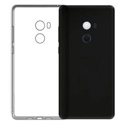 Cover Morbida per Xiaomi Redmi Mi Mix 2 Serie ULTRASOFT Stileitaliano in silicone TPU sottile Trasparente