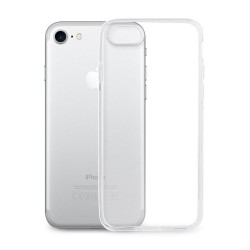 "COVER MORBIDA PER IPHONE 8 - 7 4,7"" ULTRASOFT Stileitaliano®  IN SILICONE TRASPARENTE"