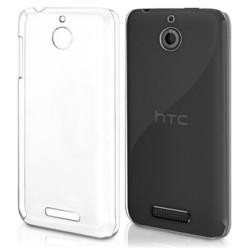 COVER MORBIDA PER HTC DESIRE 510 ULTRASOFT Stileitaliano®  IN SILICONE TRASPARENTE