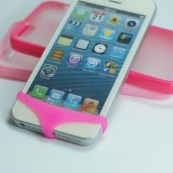 ANTIPOLVERE SLIP MUTANDINE MUTANDE MUTANDA PER IPHONE 3G 3GS 4 4S 5 5S 5C ROSA -