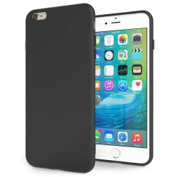 Cover per IPHONE 6 PLUS serie Soft-Touch Stileitaliano® morbida opaca NERA