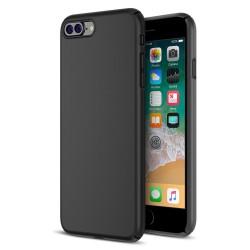 Cover per IPHONE 7 - 8 PLUS serie Soft-Touch Stileitaliano® morbida opaca NERA