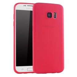 Cover per Samsung  S7 G930 J310 serie Soft-Touch Stileitaliano® morbida opaca ROSSA