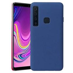 Cover per Samsung A9 2018 A920 serie Soft-Touch Stileitaliano® morbida opaca BLU
