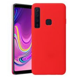 Cover per Samsung A9 2018 A920  serie Soft-Touch Stileitaliano® morbida opaca ROSSA