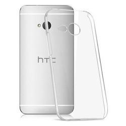Cover Morbida per   HTC M8 MINI Serie ULTRASOFT Stileitaliano in silicone TPU sottile Trasparente