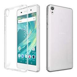 Cover Morbida per Sony Xperia E5 Serie ULTRASOFT Stileitaliano in silicone TPU sottile Trasparente