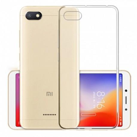 Cover Morbida per Xiaomi Redmi 6A Serie ULTRASOFT Stileitaliano in silicone TPU sottile Trasparente