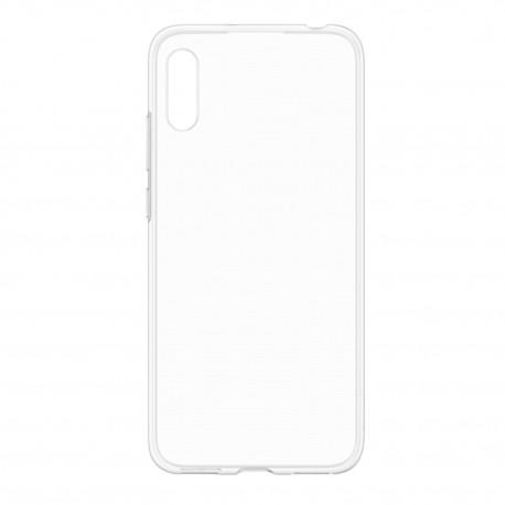 Cover Morbida per Huawei Y6 2019 ULTRASOFT Stileitaliano in silicone TPU sottile Trasparente