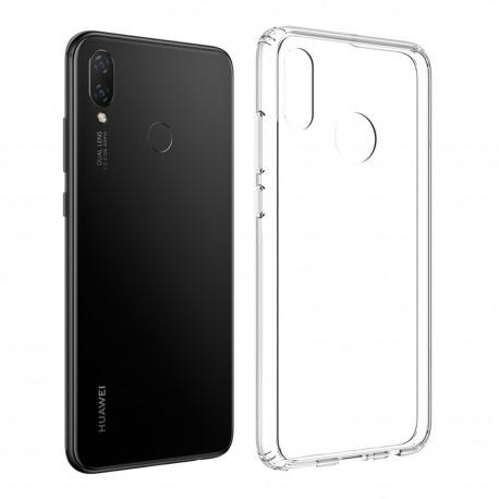 Cover Morbida per Huawei P SMART PLUS 2019 ULTRASOFT Stileitaliano in silicone TPU sottile Trasparente
