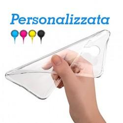 P Smart Plus 2019 - Honor 20 Lite Base1 Cover morbida personalizzata Trasparente