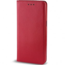 Custodia per Samsung  J3 2018 serie Magnetic Stileitaliano® Chiusura Magnetica flip a libro ROSSA -